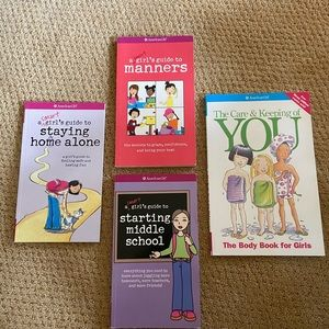 Four American girl books